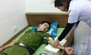 Cán bộ Công an Hà Tĩnh hiến máu cứu bệnh nhân nguy kịch