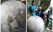 Xác định nguồn gốc quả cầu kim loại rơi xuống rừng ở Tuyên Quang