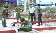 Quảng Ngãi: Cẩu khung sắt dựng quán, 11 người bị điện giật thương vong