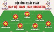 HLV Park Hang Seo tung đội hình bất khả chiến bại khiến U22 Indonesia