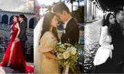 3 cô dâu rich kid lên xe hoa dịp cuối năm khiến dân mạng