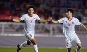 Video: Cận cảnh màn đánh đầu xé lưới U22 Singapore ngoạn mục của Đức Chinh