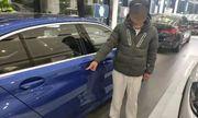 Nam thanh niên phá xe BMW đắt tiền trong cửa hàng để ép bố mua