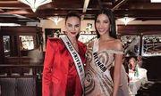 Tin tức giải trí mới nhất ngày 5/12: Hoàng Thùy diện váy xẻ bạo, đọ sắc cùng đương kim Hoa hậu Hoàn Vũ