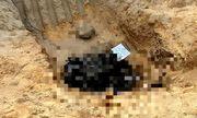 Thông tin mới nhất vụ xác chết cháy đen dưới hố công trình