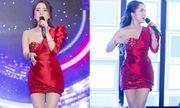 """Quỳnh Nga diện đồ gợi cảm lên sân khấu, lo sợ trang phục """"phản chủ"""" khi hát"""