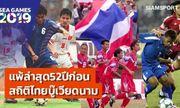Báo Thái nói lời cay đắng sau khi Voi chiến trở thành cựu vương tại SEA Games