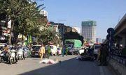 Hà Nội: Va chạm với xe tải, đôi nam nữ đi xe máy tử vong thương tâm