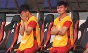 Giọt nước mắt của Quang Hải trên băng ghế dự bị khi đội nhà bị dẫn trước