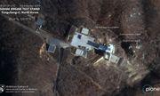 Hình ảnh vệ tinh hé lộ việc Triều Tiên khôi phục bãi phóng tên lửa từng cam kết phá bỏ