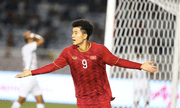 Video Đức Chinh lập cú đúp giúp U22 Việt Nam vươn lên 3-0