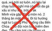Xử lý nam thanh niên tung tin đồn người ăn xin mặt đen xuất hiện ở Tiền Giang
