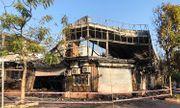 Cháy nhà hàng lúc rạng sáng ở Vĩnh Phúc, 4 nhân viên mắc kẹt tử vong