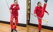 Lục Tiểu Linh Đồng đóng Tề Thiên Đại Thánh Tôn Ngộ Không ở tuổi 60