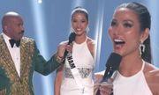 Nữ hoàng ca dao tục ngữ Hoàng Thùy trượt top 10 Miss Universe đầy tiếc nuối