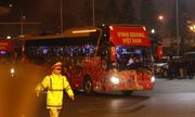 Video: Đoàn xe chở các nhà vô địch SEA Games rời sân bay Nội Bài