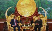 Lào luôn coi trọng, dành ưu tiên cao nhất củng cố quan hệ với Việt Nam