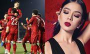 """Lệ Quyên """"chơi lớn"""" mời các cầu thủ U22 và đội tuyển bóng đá nữ Việt Nam đến xem Q SHOW 2"""