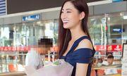 Lương Thùy Linh rạng rỡ trở về sau thành tích Top 12 Miss World