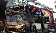 Tai nạn xe buýt nghiêm trọng khiến ít nhất 5 người chết tại Hồng Kông