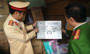 Cận cảnh quá trình kiểm tra 3 xe ô tô chở hàng lậu trên tuyến cao tốc Hà Nội - Lào Cai