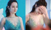 Mỹ nữ Tân Cương Địch Lệ Nhiệt Ba gây náo loạn vì khoe vẻ đẹp căng tràn gợi cảm