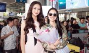 Hoa hậu thế giới 2013 Megan Young thích thú thưởng thức phở và trà đá vỉa hè ở Việt Nam