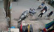 Video: Ngăn cản nhóm đối tượng trộm xe máy, người đàn ông bị xịt hơi cay thẳng vào mặt