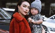 Trà Ngọc Hằng và con gái tung bộ ảnh đẹp ngời ngời đón Giáng sinh