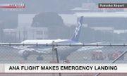Máy bay Boeing chở 278 người cháy động cơ trên không