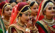 Ông trùm kim cương Ấn Độ chi tiền tổ chức đám cưới cho hàng trăm cô dâu mồ côi cha