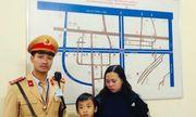 Công an Hà Nội giúp bé trai 6 tuổi đi lạc về với gia đình