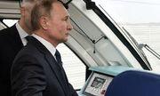 Chính thức khánh thành cầu đường sắt dài nhất châu Âu nối Nga - Crimea