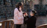 Bạn trai kém 10 tuổi quỳ gối cầu hôn hoa hậu Thu Hoài bằng nhẫn kim cương tiền tỷ