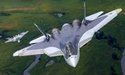 Siêu chiến đấu cơ Su-57 thế hệ mới của Nga bị rơi