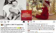 Vừa khoe con trai, Phạm Hương lại bị tố đạo status của thiên thần Victoria's Secret