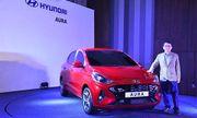 Ngẩn ngơ trước vẻ đẹp của Hyundai Aura giá từ 195 triệu