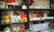 Công an thu giữ hàng nghìn túi xách giả tại cơ sở kinh doanh online