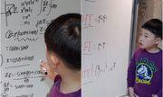 Thần đồng 6 tuổi Hàn Quốc gây bất ngờ với khả năng giải Toán đại học nhoay nhoáy