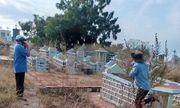Bình Thuận: Hoảng hốt phát hiện thi thể không nguyên vẹn trong nghĩa trang