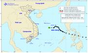 Bão Phanfone suy yếu thành áp thấp nhiệt đới trên Biển Đông