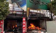 Bắc Giang: Hỏa hoạn thiêu rụi cửa hàng bán điện thoại di động