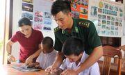 Lớp học tình thương tại Đồn Biên phòng Bình Minh: Nơi chắp cánh cho các trẻ em khuyết tật