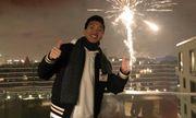 Đoàn Văn Hậu ngắm pháo hoa đón năm mới, khui sâm panh cực điệu nghệ tại Đức