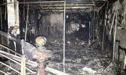 Cháy căn nhà 4 tầng ngày đầu năm mới, 3 người may mắn thoát chết