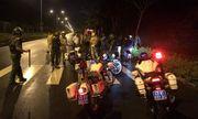Trung úy CSGT bị nhóm đối tượng đua xe tông tử vong