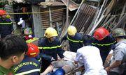 Khánh Hòa: Đang ngồi đốt vàng mã, 2 mẹ con bị đất đá đè đứt chân tay