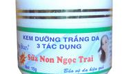 Thu hồi toàn quốc kem dưỡng trắng da 3 tác dụng sữa non ngọc trai