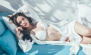 """""""Phát hờn"""" với vẻ đẹp gợi cảm của chân dài được Vũ Khắc Tiệp khen có body đẹp nhất Việt Nam"""