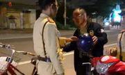 Hà Tĩnh: Người đàn ông say rượu đi xe đạp bị phạt 500 nghìn đồng